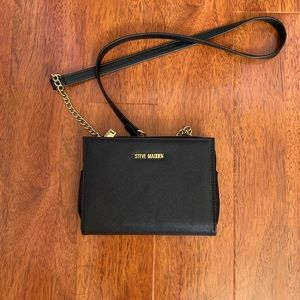 Double sided wallet black purse from Steve Madden